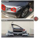 BMW 5시리즈 G30 전기형 럭셔리 (2017년~2019년)